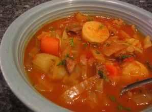 káposzta-leves