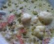 Tárkonyos karfiolleves