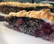 Meggyes-mákos paleo süti