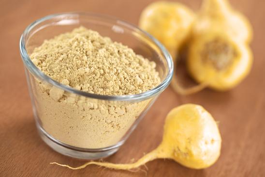 Maca Root and Maca Powder (Flour)