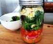 Ezt együk a munkahelyünkön: Befőttesüveg saláta