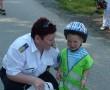 Egy súlyos betegséggel küzdő kisfiú kívánságát teljesítették a győri rendőrök!