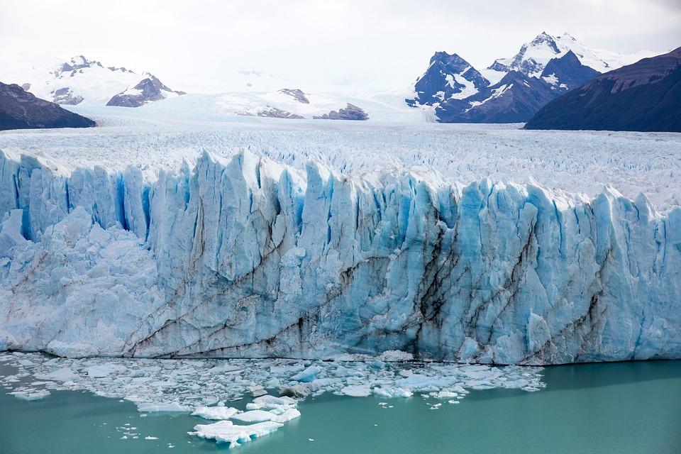 Iceberg Scenic Frozen Alaska Glacier Sea Climate