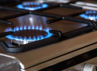 Oven Cooking Gas Burners The Flame Blue Cooker