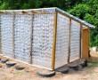 Így építs 1000 vizespalackból kerti melegházat