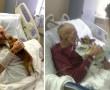 A végső stádiumos rákos férfinak megengedték, hogy a kutyáját bevigye a kórházba és ami ezután történt…