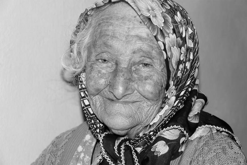 Portrait Women's Human Old Grandmother
