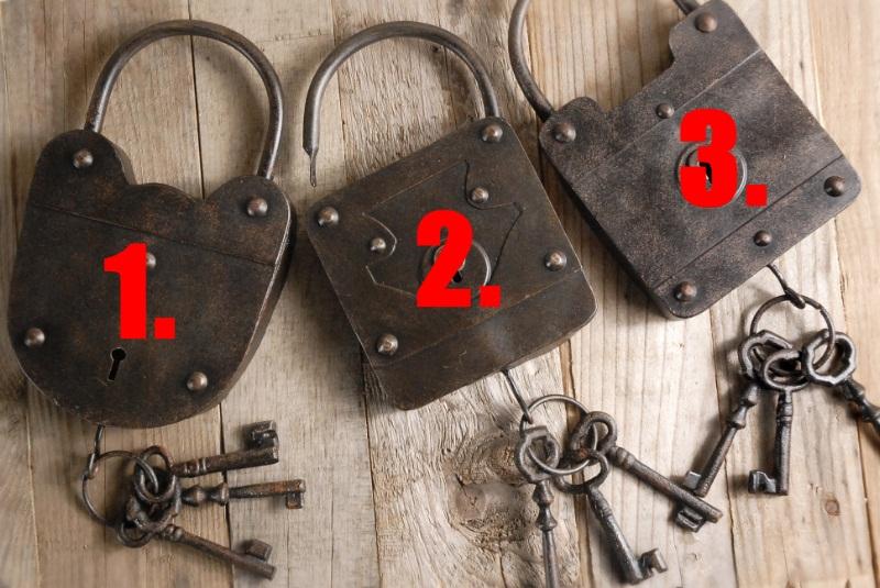 75864751771 metal lock key wall art
