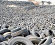 Így néz ki a világ legnagyobb autógumi temetője!